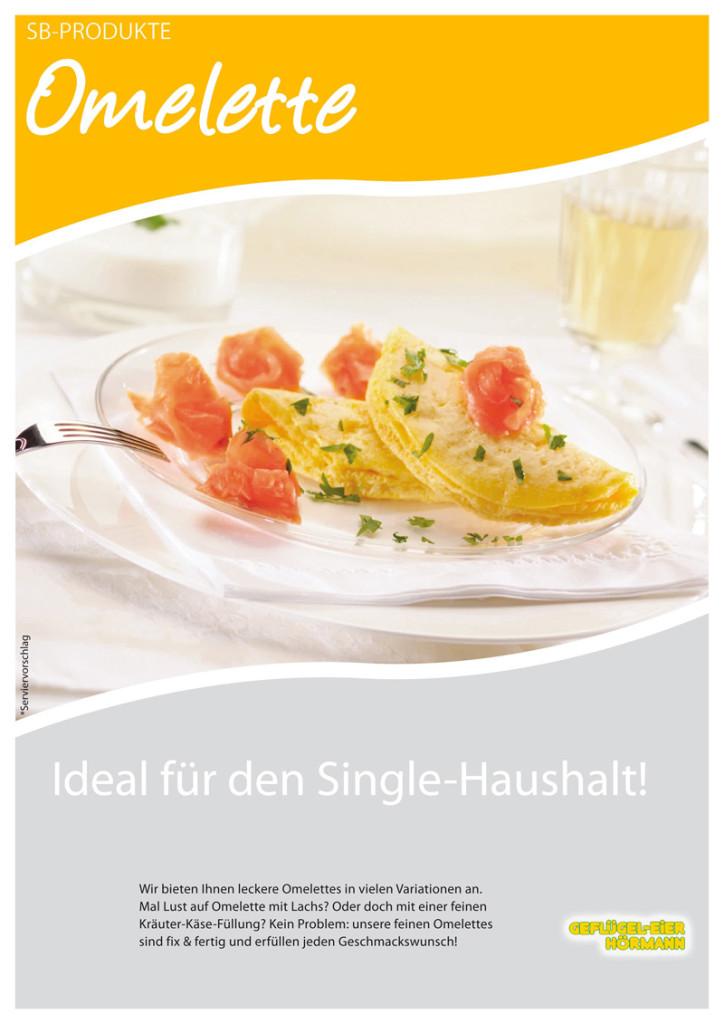 Omelette Produktblatt