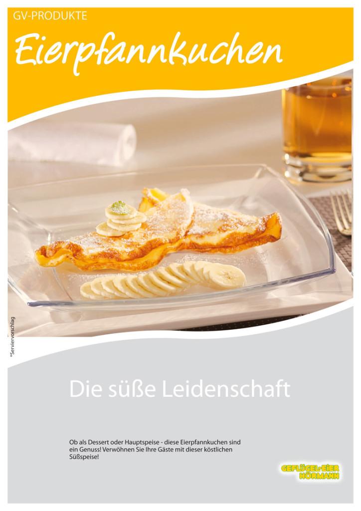 Eierpfannkuchen Produktblatt